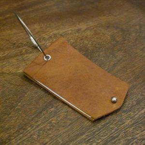 Leather Bag Tag (Big) | Luggage Tag
