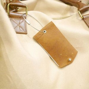 Leather Bag Tag (Big) | Luggage Tag