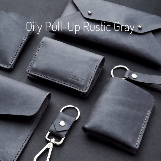 Oily Pull-up Rustic Gray